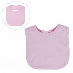 Pink Velcro Bib