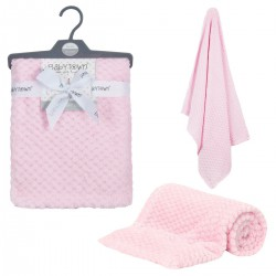 Pink Waffle blanket