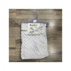 Grey Dimple Blanket