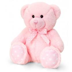Pink Spotty Teddybear