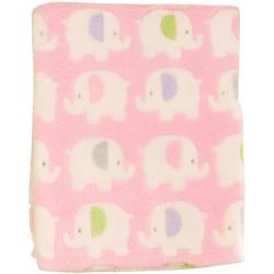 Pink Elepant Blanket