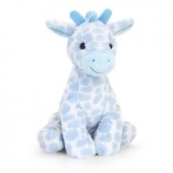 Blue Snuggle Giraffe